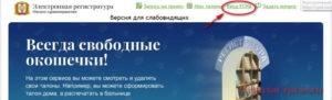 Запись к врачу Омск - инструкция шаг1