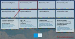 Запись к врачу Нижний Новгород - инструкция шаг2