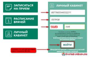 Запись к врачу Рубцовск - инструкция шаг2
