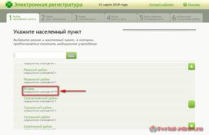 Запись к врачу Рязань - инструкция шаг1