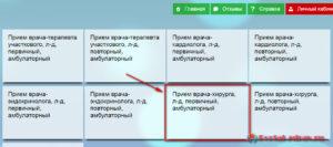Запись к врачу Йошкар-Ола - инструкция шаг4